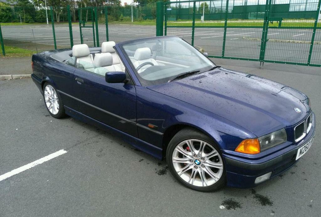 Mint 1996 Bmw 328i Auto Convertible Mot To May 2017 Full Service History Price Drop