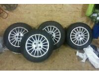 15inch Ford alloy wheels, fiesta, focus, 4x100