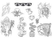 PLENTY OF TATTOO FLASH OR CUSTOM TATTOOS STARTING AT £20, AVAILABLE SPACE THIS AND NEXT WEEK