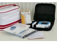Roche CoaguChek INR self testing kit, tested, calibrated, and in excellent clean condition.