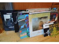 Vinyl records indie/alternative/new wave/1960s ~50 records