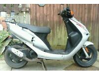 2010 sym jet 50cc 10 months mot , reliable scooter