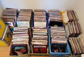 Huge Approx 3000+ Vinyl Records - Albums & Singles 12″and 7″ - Job Lot