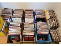 Huge Approx 3000+ Vinyl Records - Albums & Singles 12″and 7″ - Job Lot