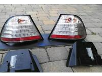 bmw e46 coupe led rear lights