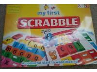 Children scrabble. New