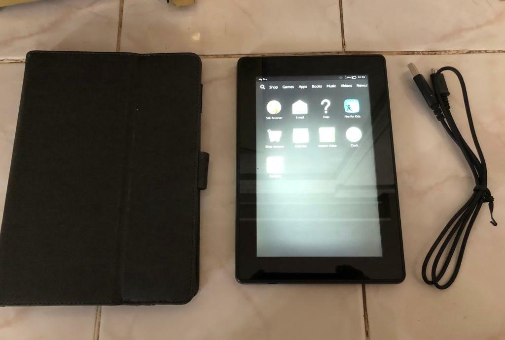 Kindle fire, tablet with its case/stand and usb charger | in Leamington  Spa, Warwickshire | Gumtree