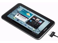 Samsung Tab 2 Black 7 Inch 8GB WIFI excellent Condition with Box & accessories
