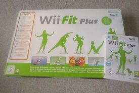 Wii Fit Plus Balance Board and Game