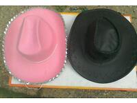 Cowboy hats fancy dress