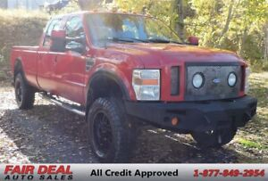 2008 Ford F-350 XLT: 4 Inch Lift & 35 Inch Tires