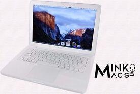 " White 13"" Apple MacBook Unibody 2.4Ghz 2gb 250GB Reason Ableton Cubase Logic Pro Microsoft Office"