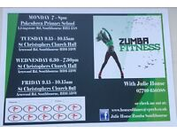 Zumba Fitness with Julie House