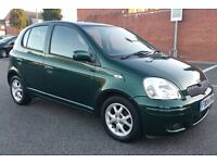 TOYOTA YARIS AUTOMATIC TSPRIT 2004 LOW MILEAGE 48K & 2 KEYS FULL SERVICE HISTORY £1890