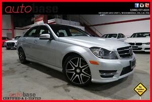 2014 Mercedes-Benz C-Class C350 4MATIC SPORT AMG FULLY LOADED!!!