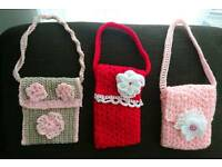Crochet handbags for girls