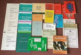 Music Theory, Aural and Composition Books. Collect Stamford Bridge.