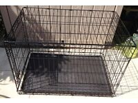 FOLDING DOG / PET CAGE – L. 36 inch, W. 22 inches, H. 24 inches