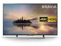 Sony Bravia KD43XE7002BU 43 Inch 4K Ultra HD HDR Freeview Smart WiFi LED TV