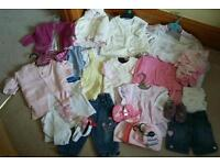 Collection of Girls baby clothes