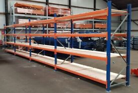 Warehouse Stow Pallet Racking 3m (4 levels)