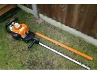 "Stihl HS86R petrol hedge trimmer, 30"" blades"