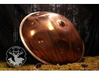 NaturePan,handmade with La'Sirena scale,Copper handpan