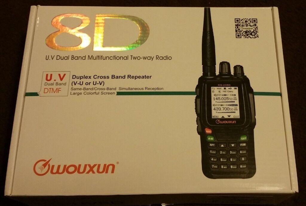 Wouxun KG-UV8D Handheld Radio VHF/UHF Transceiver | in Bramley, West  Yorkshire | Gumtree