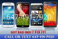 $30+ Samsung HTC LG Repair and Fix Bad IMEI BLOCKED BLACKLISTED?