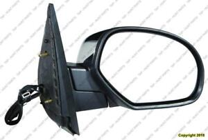 Door Mirror Power Passenger Side Heated Withoutffroad Without Courtesy Without Signal Chrome Cap GMC Yukon 2007-2011