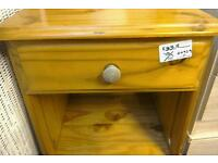 2 x bedside tables (priced separately at £35 each). Combined price £70