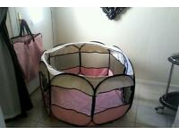 New puppy play pen