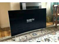49in Curved Samsung 4K HDR 1000 (10bit Panel) Smart SUHD Quantum Dot LED TV
