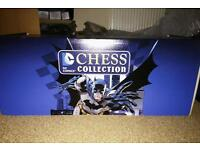 RARE Eaglemoss Complete DC CHESS COLLECTION, Ultimate Collectors Edition Chest, New And Sealed