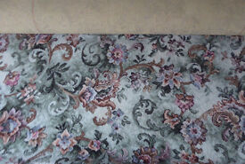 """FOR SALE - AXMINSTER CARPET 80% wool & 20% nylon – top quality had very little wear. 20'10"""" x 12'8"""""""