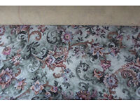 "FOR SALE - AXMINSTER CARPET 80% wool & 20% nylon – top quality had very little wear. 20'10"" x 12'8"""