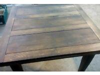 Antique soild oak table 1960s