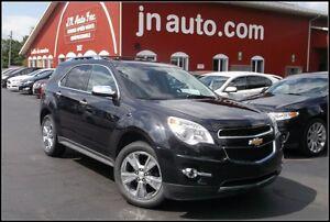 2012 Chevrolet Equinox LTZ AWD, GPS, Intérieur en cuir + toit ou