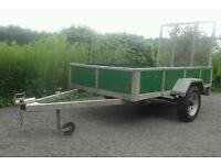 Trailer 8x5*Galvanized*Drop Ramp*Quad*Buggies*Ride on mower*
