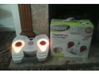 HOMEDICS TAPPING FOOT MASSAGER WITH HEAT