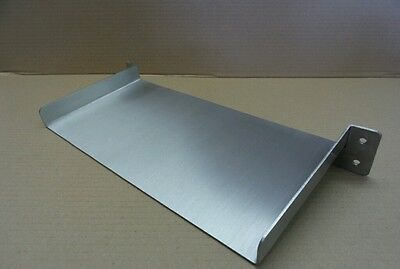400mm Stainless Steel Waterfall Spillway Veggie Filter 150mm Spout koi pond weir