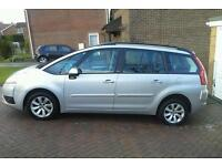 Ctroen grand picasso c4 7 seats deisel automatic
