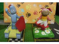 In the night garden toys Upsy Daisy & Iggle Piggle
