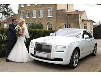 Wedding Car hire / Rolls Royce Phantom Ghost / Bentley / limos / Video / Cheap Photography