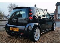 Smart forfour BRABUS turbo hot hatch sleeper - 180 bhp! Leather, a/c, heated seats, service history