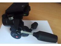 Manfrotto 3 axis tripod head