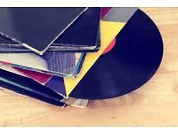 10 Vinyl Records (Randomly Selected)