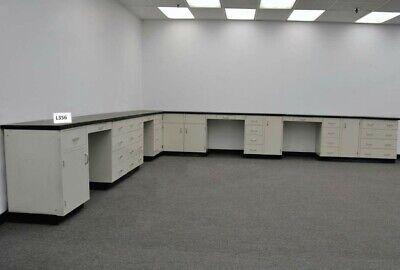 34 Laboratory Furniture Cabinet Group W Desk Areas Counter Tops E1-513