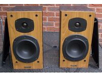 Tannoy m2 Mercury Speakers plus QED Audio Cable