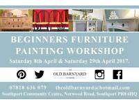 Furniture Painting Workshops - Limited places, book now.